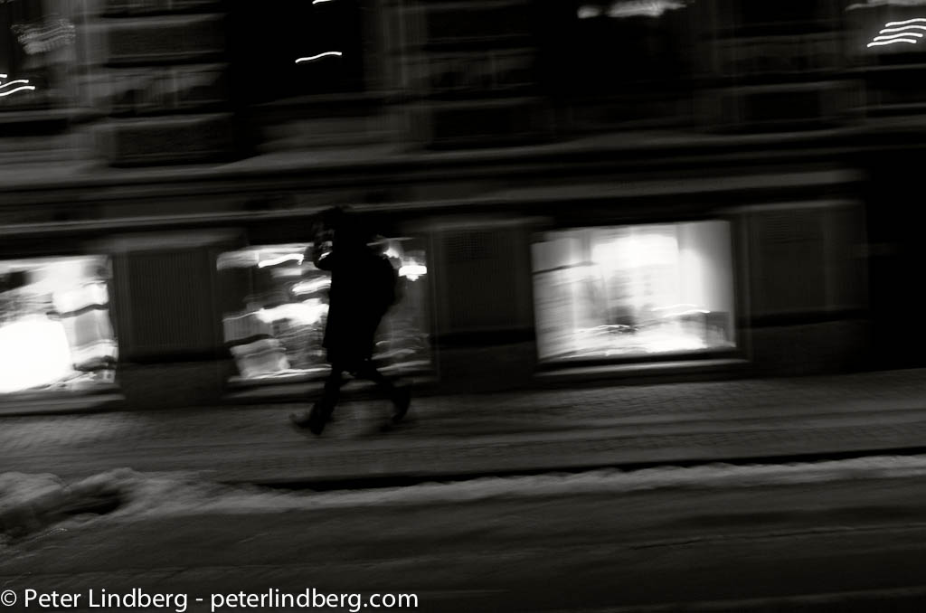 At Night: Street Walker - Peter Lindberg Photography