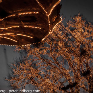 At Night: Swinging Around Amusements - Peter Lindberg Photography